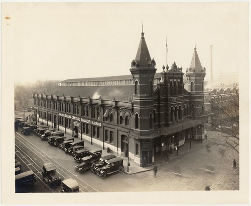 Grand Central Palace, which contains bowling alleys and billard parlor at Center Market, Washington, D.C.