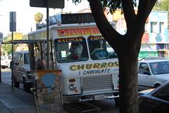 Salinas Churro Truck, Echo Park