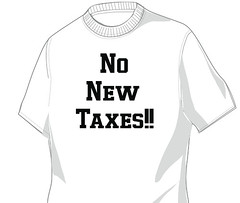 No New Taxes T-Shirt