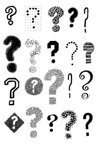 Question Marks by Don Moyer