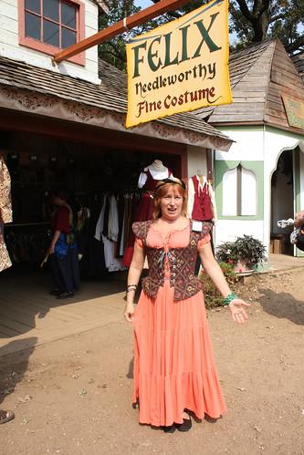 Ann at Felix Needleworthy's