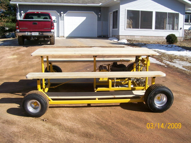 The motorized picnic table up north a.k.a. The PT CRUISER - Photo 61