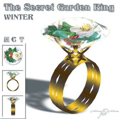 ~flirt~ The Secret Garden Ring: WINTER