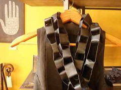 the kid leather chain wrap at metalthread