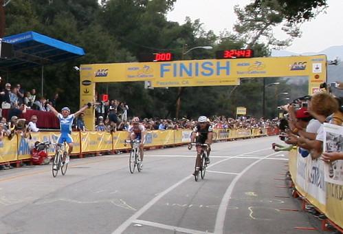 Tour of California Finish