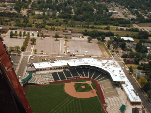 View of Parkview Field from the air - what a sight!