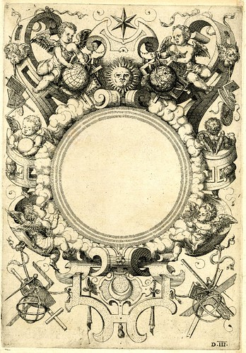 Coelum textless titlepage - Perspectiva Corporum Regularium -  Wenzel Jamnitzer 1568 (from British Museum)