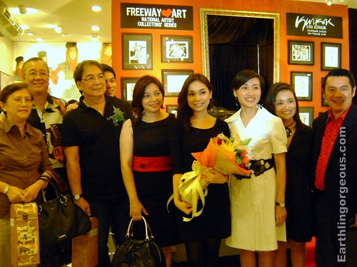 Joey de leon and family, friends of Ang Kiukok