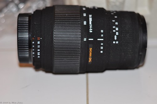 New Sigma 70-300mm lens