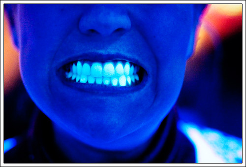 Black Light Teeth
