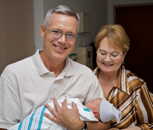 Grandpa and Grandma Schofield