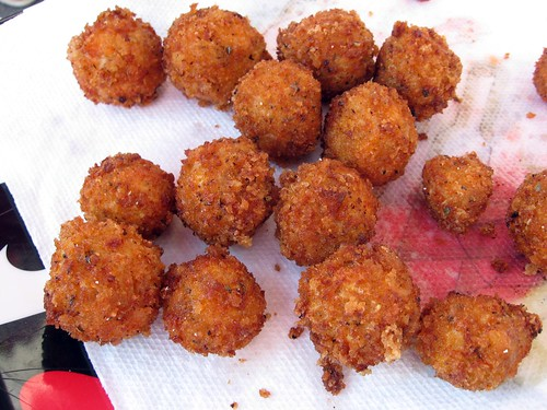 "Fried Buffalo ""Wing"" Flavored Balls"