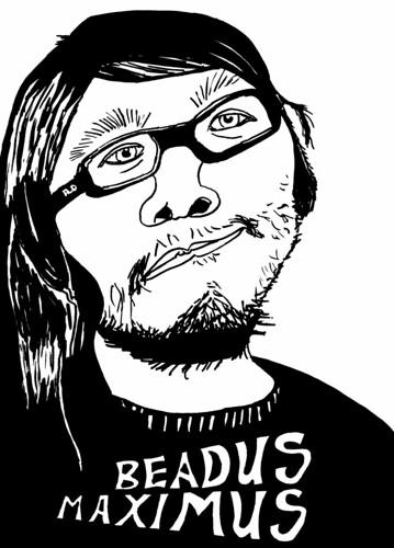 Beardus Maximus fan art, day 23