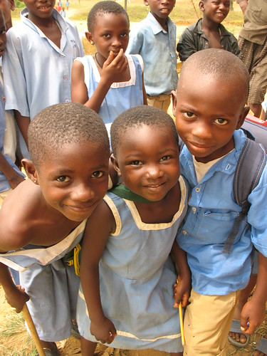 School Children in Cameroon