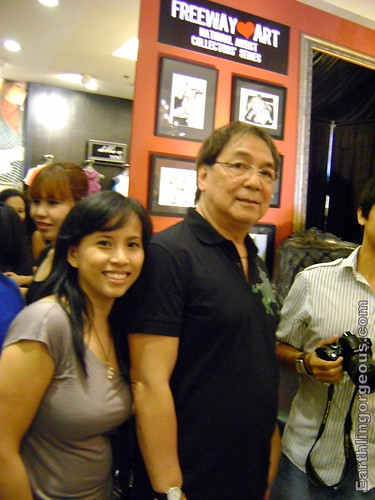 Paparazzi shot of me and Joey de Leon