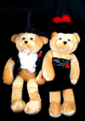 Husband and Wife Bears