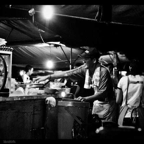 drinks and dessert stall
