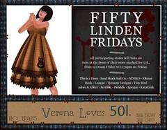 50L Friday 13 --TD-- Tyrany Designs - Verona Loves 50L