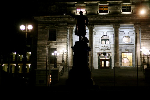 Wednesday: Parliament at Night