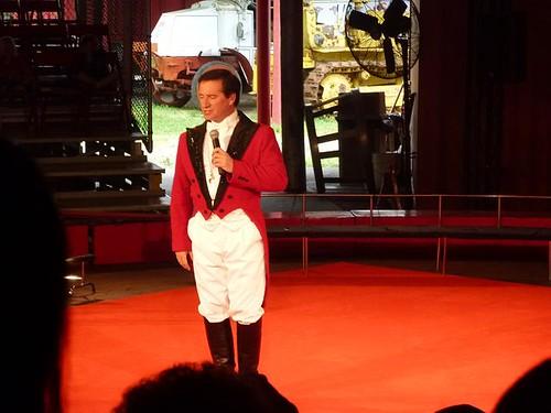 WI, Baraboo - Circus World Museum 51 - Ringmaster