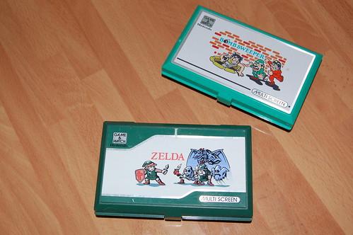 Zelda y Mine Sweeper (cerradas)