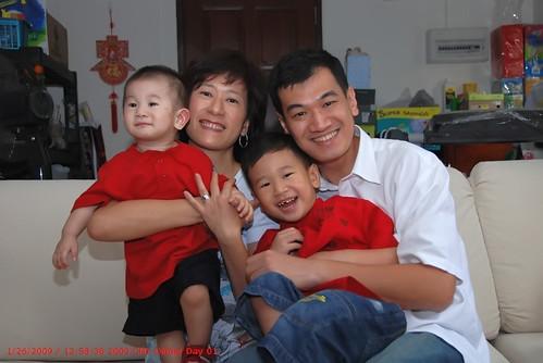 CNY 2009 Family Pics