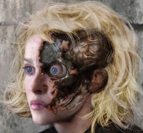 Featured: Helena Boneham Carter without makeup....