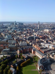 View over Liverpool from The Cathedral