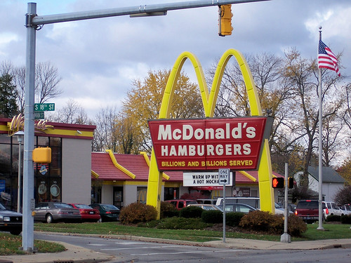 Old McDonald's sign