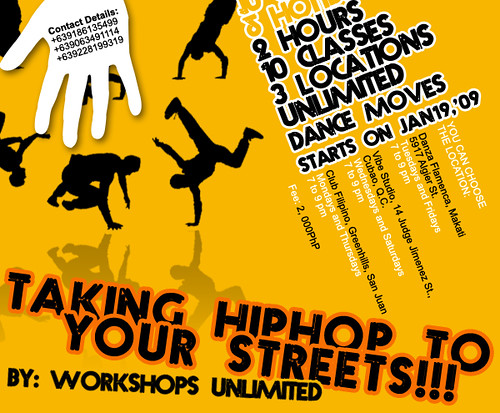 WORKSHOPS UNLIMITED 2009 poster by Jana Estrevillo