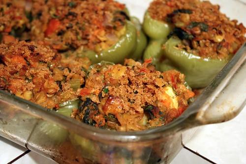 lentil stuffed peppers 1