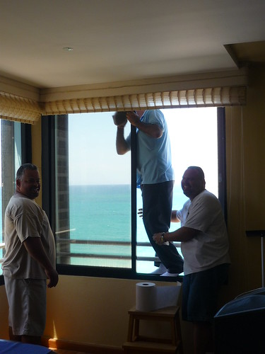 Window cleaning...