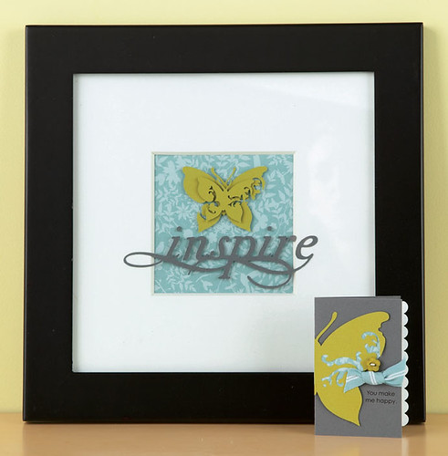 Alicia Thelin's Inspire Frame & Card