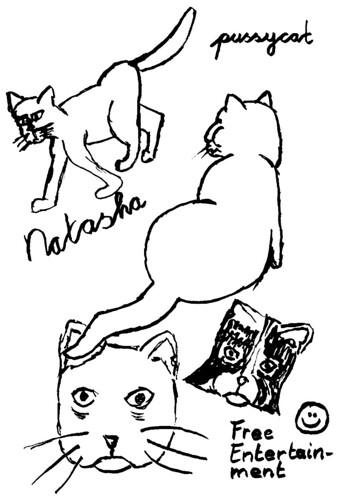 Reed pen cartoon, part 3