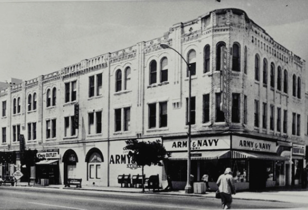 A photo of the Keller Building at 90 years old.