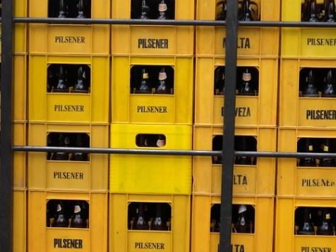 Pilsener beer crates