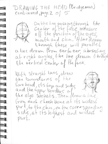 Drawing the head according to Bridgman, part 2 of 5