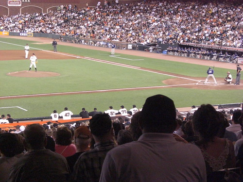 Giants and Padres