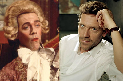 Hugh Laurie's evolution