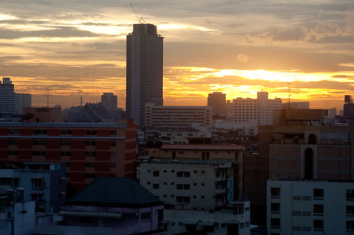 Bangkok Sunset After a Storm