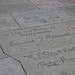 Signatures outside Grauman's Chinese Theatre, Hollywood, Los Angeles