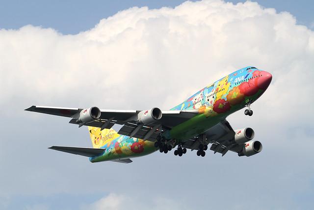 ANA B747-400D(JA8956)