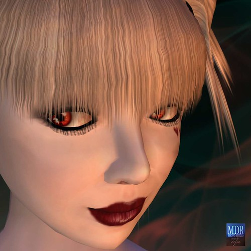 They Eyes are from Ryker Beck - Genesis - Elemental - FIRE