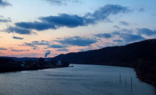 Monongahela PA, view from bridge