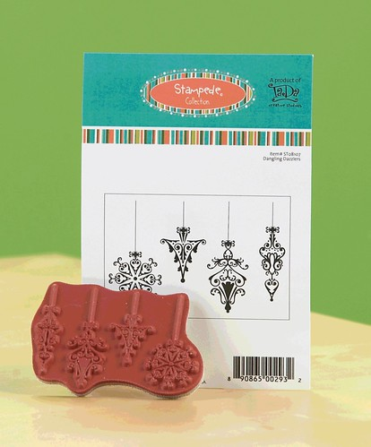 Who knew that these Dazzling Danglers from TaDa Creative Studios could create such an array of cards? Now THAT'S versatile!