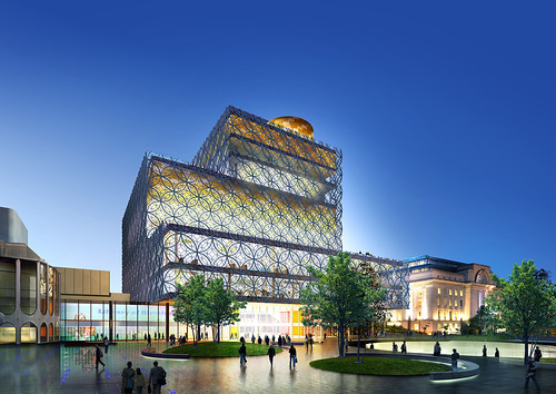 Library of Birmingham Design Concept cropped