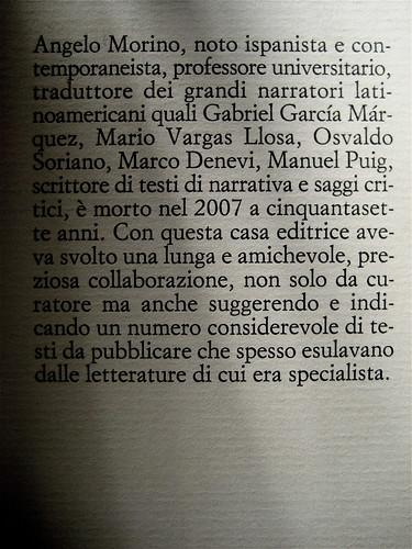 Angelo Morino, Quando internet non c'era, Sellerio 2009, risvolto dx di copertina (part.)