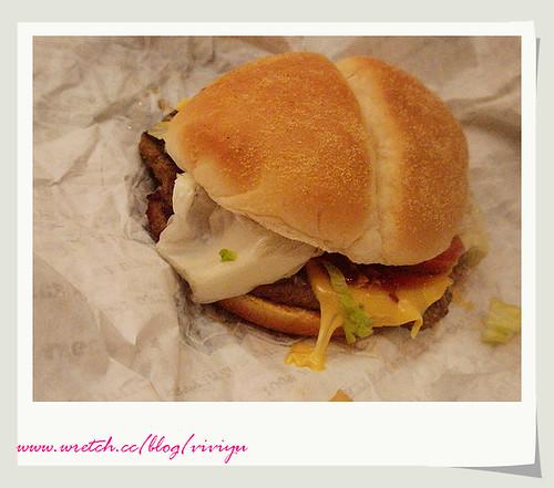 [台灣]漢堡王~總匯安格斯牛排堡 @VIVIYU小世界