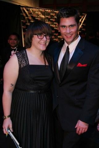 Melissa Baron and Jack from Project Runway