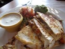 zapata - quesadilla with picadillo